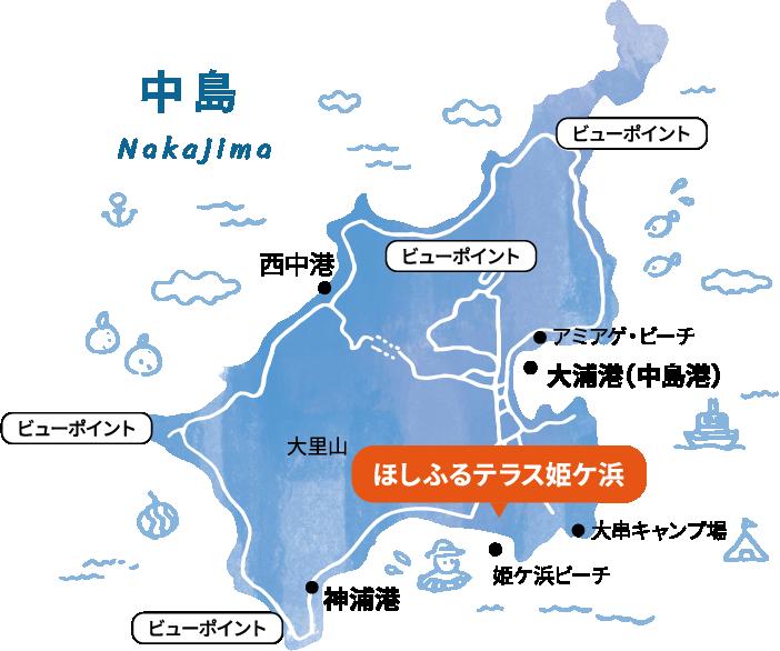 中島について